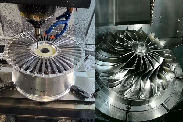 What is 4-axis and 5-axis CNC machining?