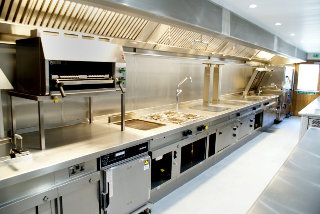 Rapid sheet metal fabrication for Commercial Kitchen Installations